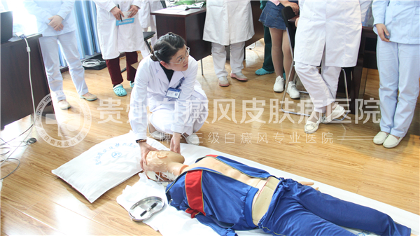 我院开展心肺复苏技能培训,掌握急救黄金4分钟